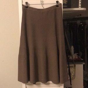 Kerisma knee length skirt, Skater style,size large